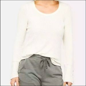 Chaser Waffle Knit Thermal Long sleeve tee
